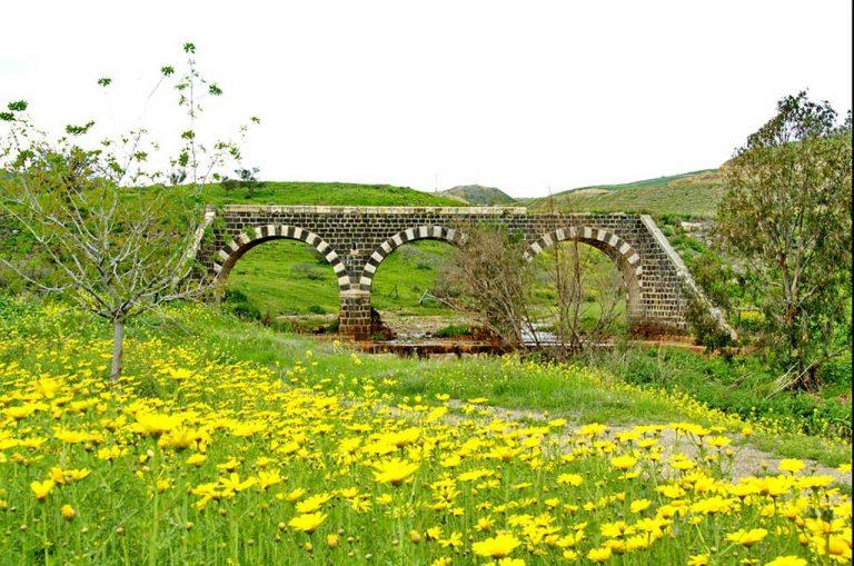 גשר הרכבת הטורקי נחל יששכר