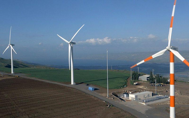 חוות הרוח לאנרגיה מתחדשת