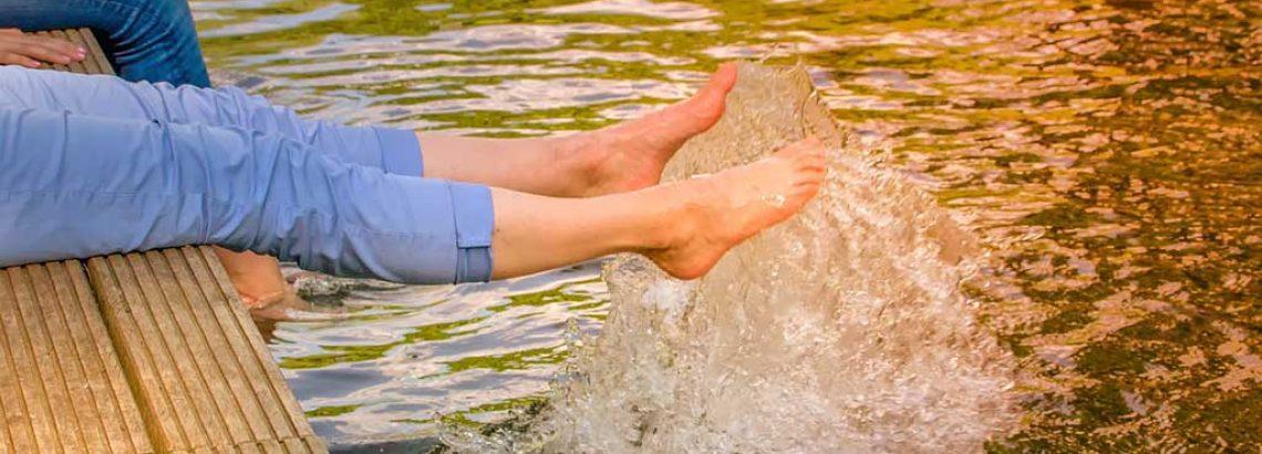 לטבול במים הקרירים